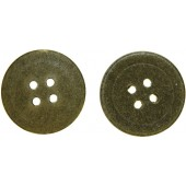 Paper/cardboard buttons, Feldgrau - 23 mm. Wehrmacht Heer, Lufftwaffe and other military services