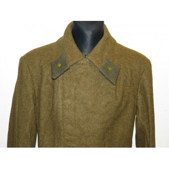 Red Army M 41 field overcoat for  command crew of RKKA, junior lieutenant. Espenlaub militaria