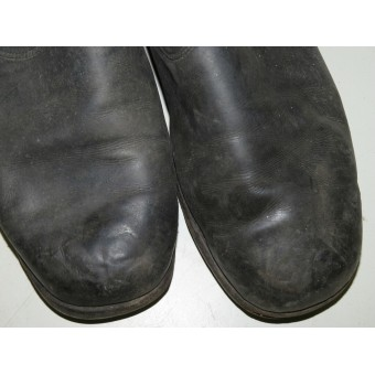RKKA, Red Army enlisted men or command crew pre-1941made leather long boots. Espenlaub militaria