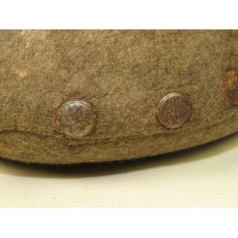 Wehrmacht Heer or Waffen SS combat canteen from Wolchow front. Espenlaub militaria
