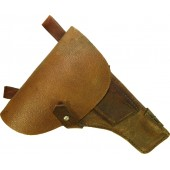 WW2 Soviet Russian TT-33 pebbled brown leather holster