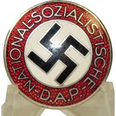 3rd Reich Enameled NSDAP badge,  M 1/34 RZM