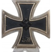 3rd Reich Iron Cross, 1st class, 1939, L1/13 for Paul Meybauer.