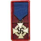 3rd Reich the Long Service Civil Cross, 25 Years.
