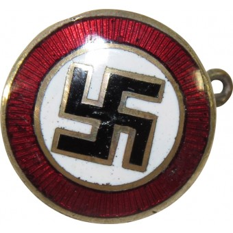3rd Reich National Socialist Party sympathizer badge, 16mm.. Espenlaub militaria