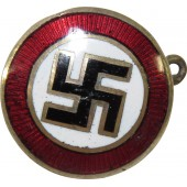 3rd Reich National Socialist Party sympathizer badge, 16mm.