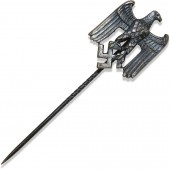 3rd Reich pin for servant in Wehrmacht to wear on civilian suite, Assmann