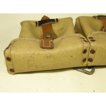 Artificial leather/oilcloth  ammo pouch for Mauser G43 rifle, BLA44.. Espenlaub militaria