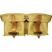 Artificial leather/oilcloth  ammo pouch for Mauser G43 rifle, BLA44.