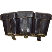 Black ammo pouch for K98, near mint.