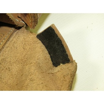 Brown leather ammopouch for G43 rifle. ROS44. Espenlaub militaria