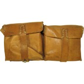 Brown leather ammopouch for G43 rifle. ROS44