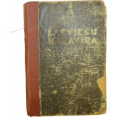 Diary-calender of Latvian Waffen SS volunteer, 1944