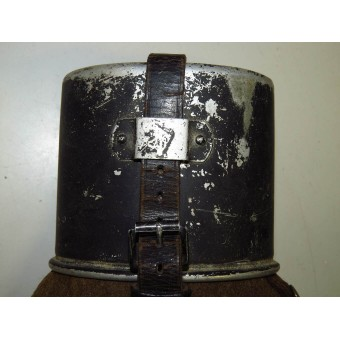 German soldier water canteen, marked HRE38. Espenlaub militaria
