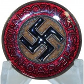 Unfinished NSDAP badge with markings M1/3