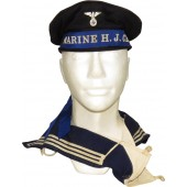 Kriegsmarine  HJ Celle sailor's cap, RZM
