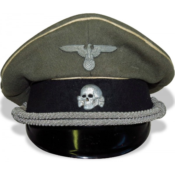Kleiderkasse Waffen SS visor hat for enlisted man- Visor Hats