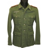 M40 Wehrmacht artillery tunic for enlisted personal  in rank of Kannonier