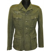 M40 Wehrmacht Heer signals tunic in rank of Funker