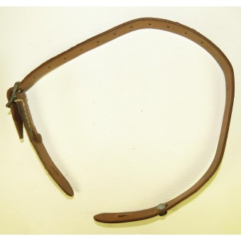 German steel helmets chinstrap, marked Rb.Nr 0/1235/0007- 44