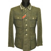 German Wehrmacht combat tunic M 43. Italian wool made