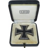 Iron Cross, 1st class, EK1 with  LDO box