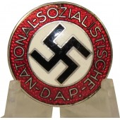 National Socialist Party member's badge, M1/34