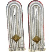 Pair of Luftwaffe officer's shoulder boards for military administration