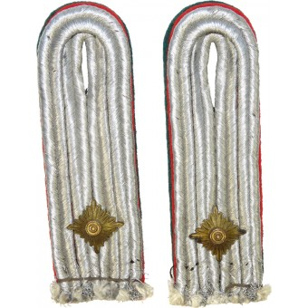 Pair of Luftwaffe officers shoulder boards for military administration. Espenlaub militaria