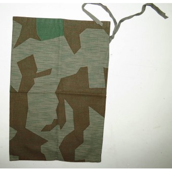 Personal items bag made from camo cloth. Espenlaub militaria