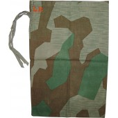 Personal items bag made from camo cloth