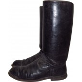 RKKA nco or officer leather boots.