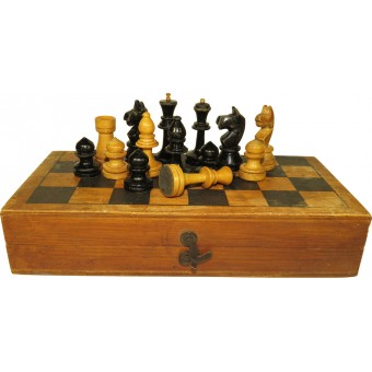 Table game - Chess, early postwar. Espenlaub militaria