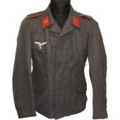 Third model of Luftwaffe Fliegerbluse tunic for enlisted ranks of Flak artillery