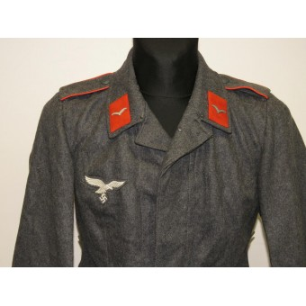 Third model of Luftwaffe Fliegerbluse tunic for enlisted ranks of Flak artillery. Espenlaub militaria