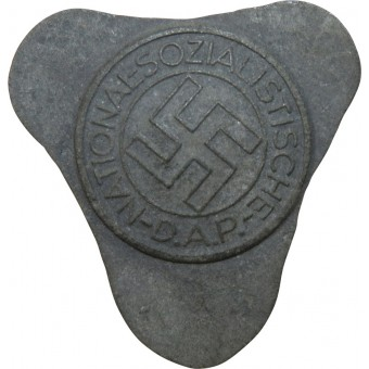 Unfinished NSDAP badge, M1/22 RZM. Espenlaub militaria