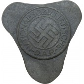 Unfinished NSDAP badge, M1/22 RZM