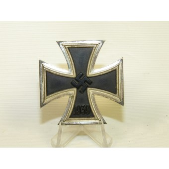 WW2 German Iron Cross, 1st class with awarding box, Wilhelm Deumer.. Espenlaub militaria