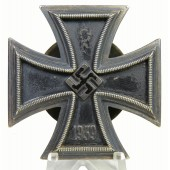 Iron Cross 1st Class, screw back, L/58 for Rudolf Souva