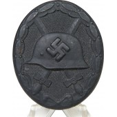 Mint, unmarked Wound badge in black 1939