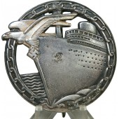 Kriegsmarine Blockade Runner Badge by Schwerin Berlin