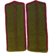 M43 Shoulder straps for Red Army commissariat service junior commanders
