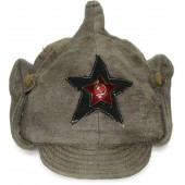 Red Army  Winter hat M 27/32 moleskin made
