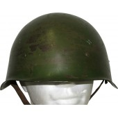 Steel helmet SSh-40, the middle war example