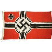 The naval flag of the Third Reich- Reichskriegsflag