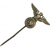 NSDAP Party Eagle Stick Pin is die-struck