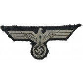 Wehrmacht tank crew breast eagle