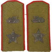 Field shoulder boards - Chief Marshal of Armored Forces