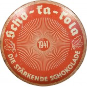 Scho-ka-kola chocolate tin for the Wehrmacht. 1941