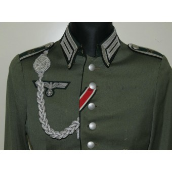 Wehrmacht Waffenrock for Unteroffizier of 57th combat engineer battalion
